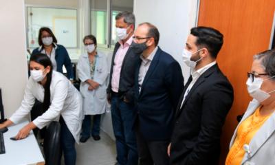 Ministério da Saúde visita Hospital Ernesto Simões para conhecer modelo de prontuário eletrônico
