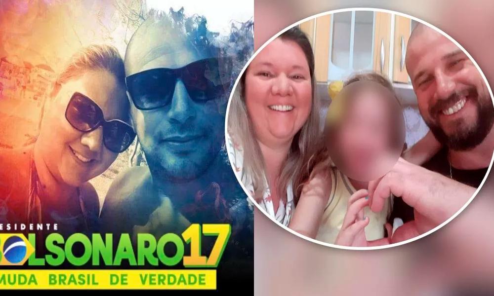 militante bolsonarista mata mulher a facadas em frente à filha de cinco anos