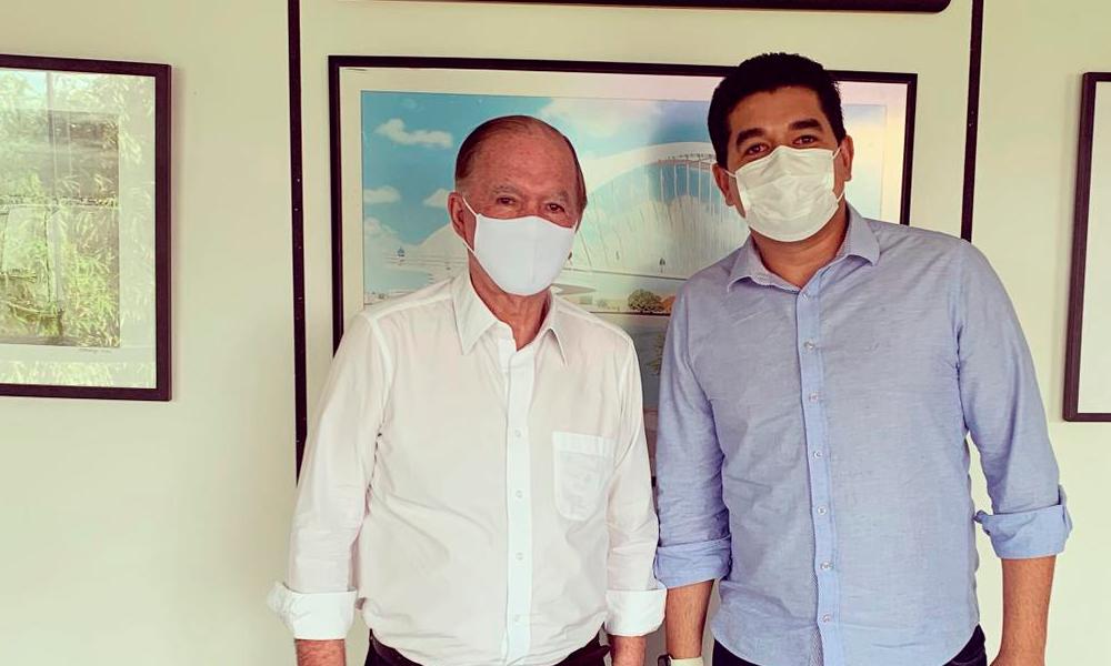 Ferdnand Andrade se reúne com vice-governador