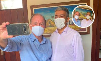 Prefeito Edifrancio se reúne com o vice-governador João Leão
