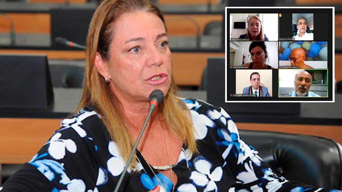 Deputada Fabíola Mansur sugere e colegiado aprova moção de repúdio ao Ministro da Educação